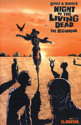 Night of the Living Dead: The Beginning #3 (Platinum Foil Cover)