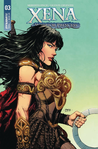 Xena #3 (Finch Cover)