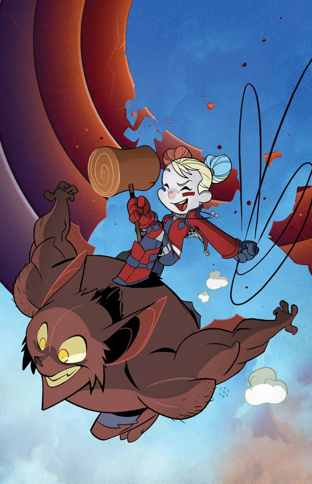 Harley Quinn and the Suicide Squad April Fools Special #1 (Variant Cover)