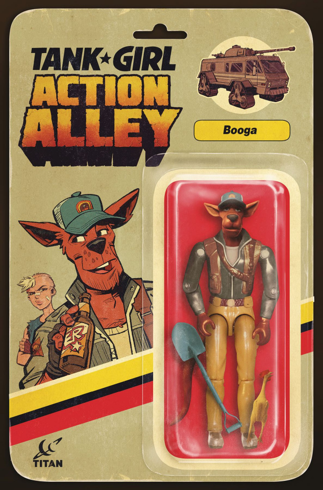 Tank Girl: Action Alley #2 (Action Figure Cover)
