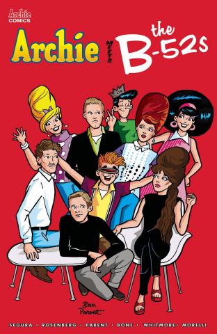 Archie Meets the B-52s #1 (Parent Cover)