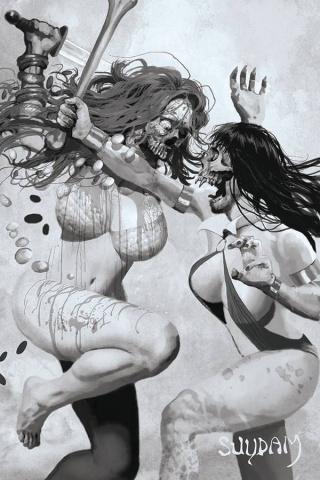 DIE!namite #3 (35 Copy Suydam Living Dead Virgin Cover)