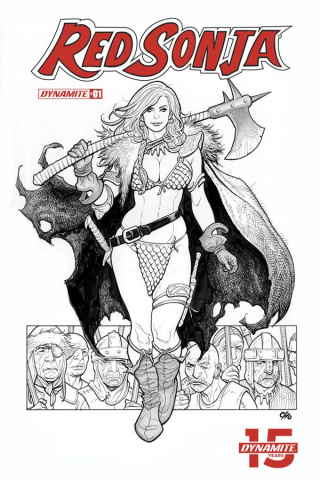Red Sonja #1 (40 Copy Cho B&W Cover)