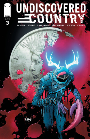 Undiscovered Country #3 (Capullo Cover)