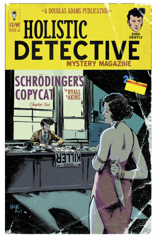 Dirk Gently's Holistic Detective Agency #2 (10 Copy Cover)