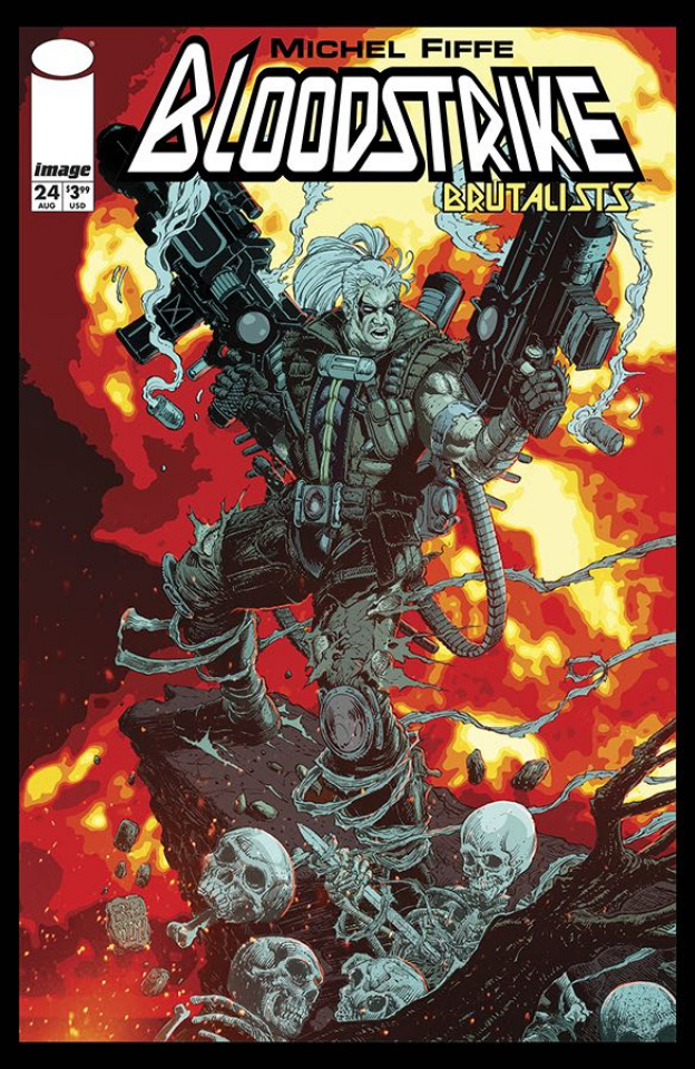 Bloodstrike #24 (Fraga Cover)