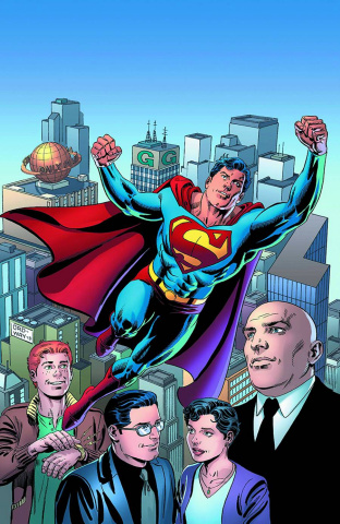 Superman Unchained #1 (75th Anniversary Cover)