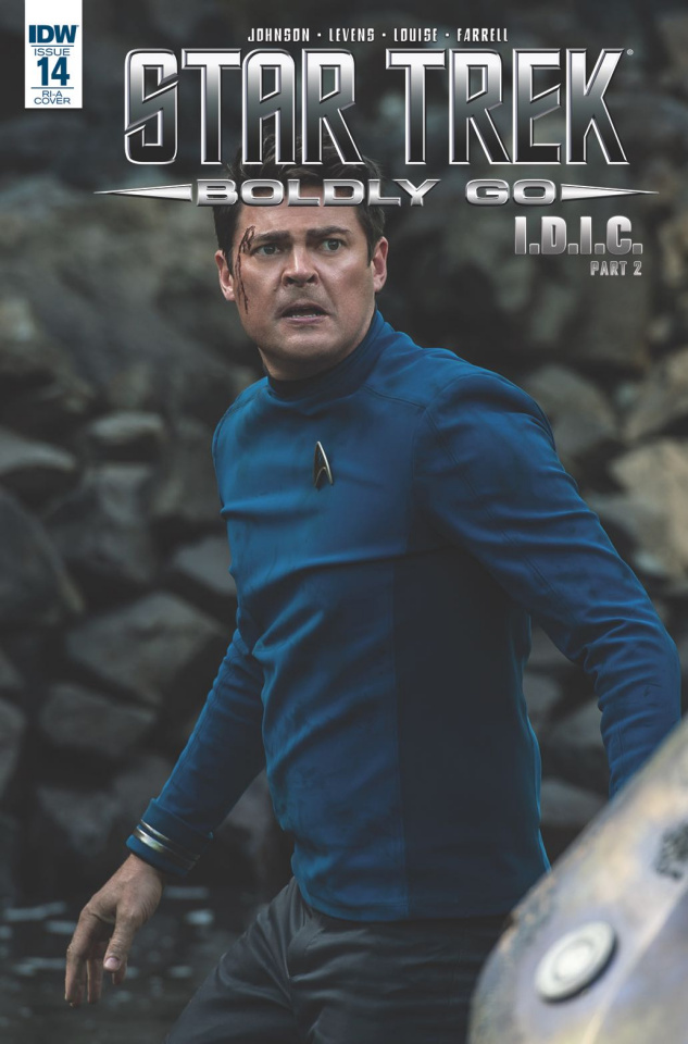 Star Trek: Boldly Go #14 (10 Copy Cover)