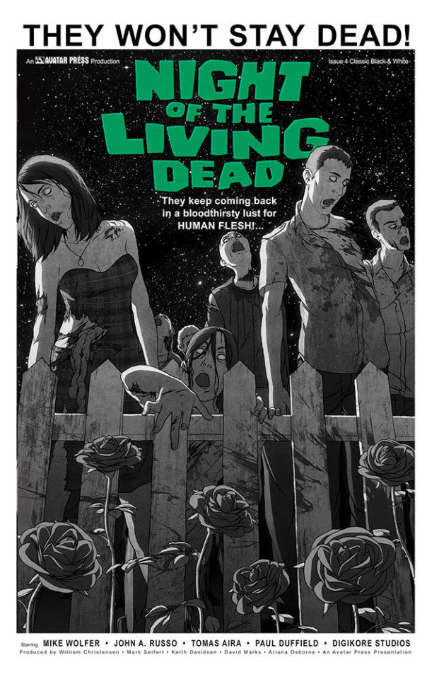 Night of the Living Dead #4 (Classic Cover)