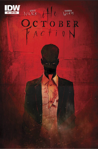 The October Faction #11 (Subscription Cover)