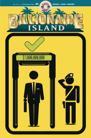 Billionaire Island #2 (Pugh Cover)