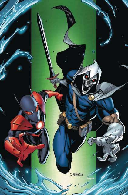 Secret Empire #8 (Mora Villain Cover)