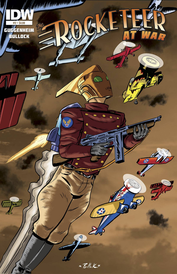 The Rocketeer At War #2