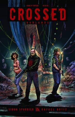 Crossed: Badlands #37 (Torture Cover)