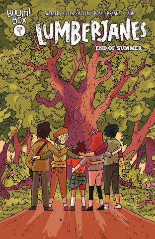 Lumberjanes: End of Summer #1 (Walden Cover)
