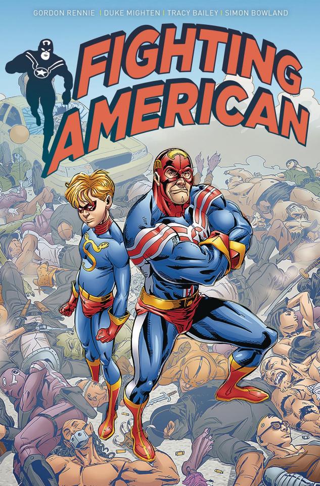 Fighting American #4 (De La Fuente Cover)