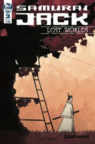 Samurai Jack: Lost Worlds #3 (Thomas Cover)