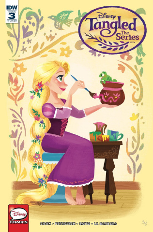Tangled: Hair Raising Adventures #3 (10 Copy Zapat Cover)