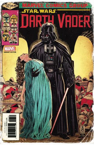 Star Wars: Darth Vader #1 (Brooks Marvel Homage Cover)
