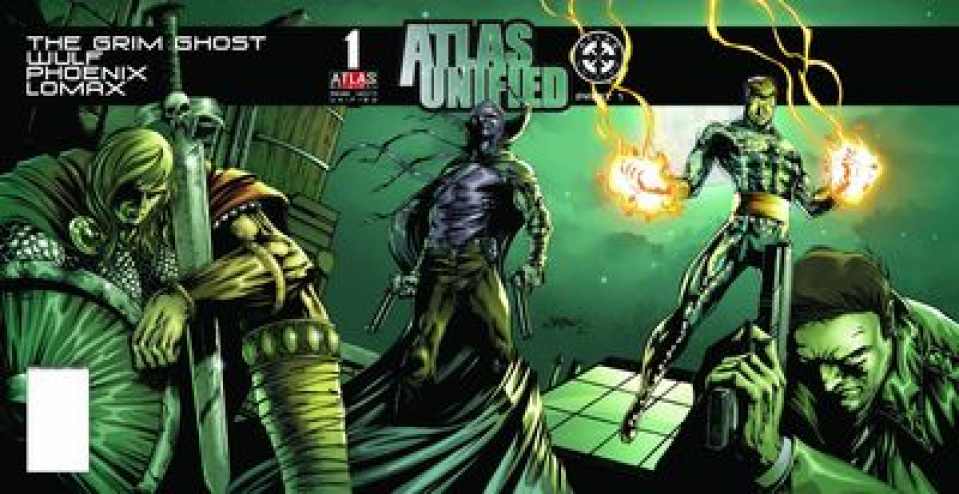 Atlas Unified #1 (Wrap Cover)