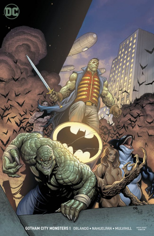 Gotham City Monsters #1 (Variant Cover)