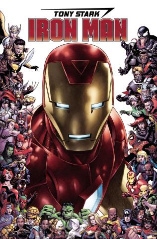 Tony Stark: Iron Man #15 (Cheung Marvel 80th Anniversary Frame Cover)