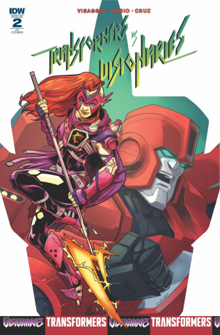 The Transformers vs. The Visionaries #2 (10 Copy Cover)