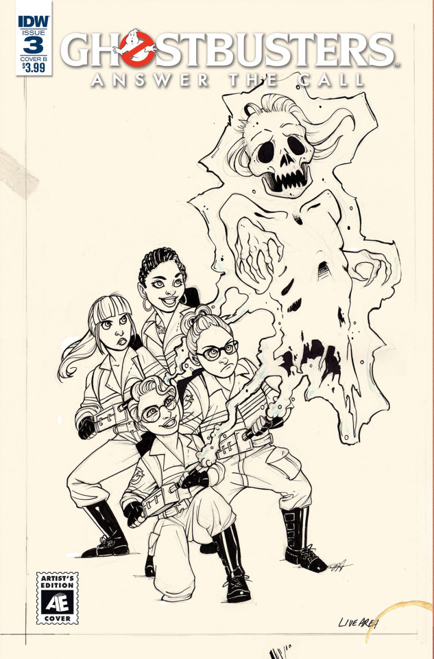Ghostbusters: Answer the Call #3 (Ed Hickman Cover)