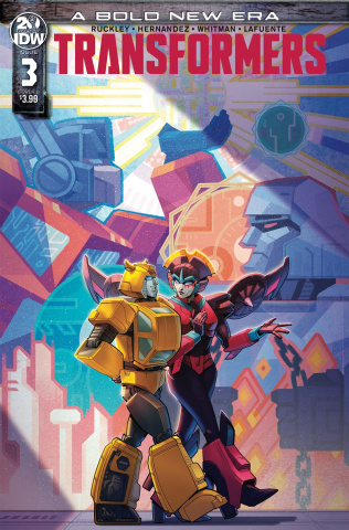 The Transformers #3 (Malkova Cover)