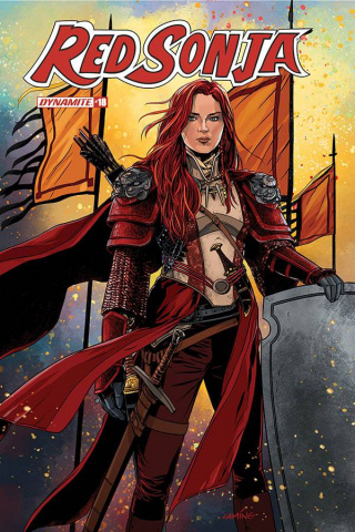 Red Sonja #18 (Laming Cover)