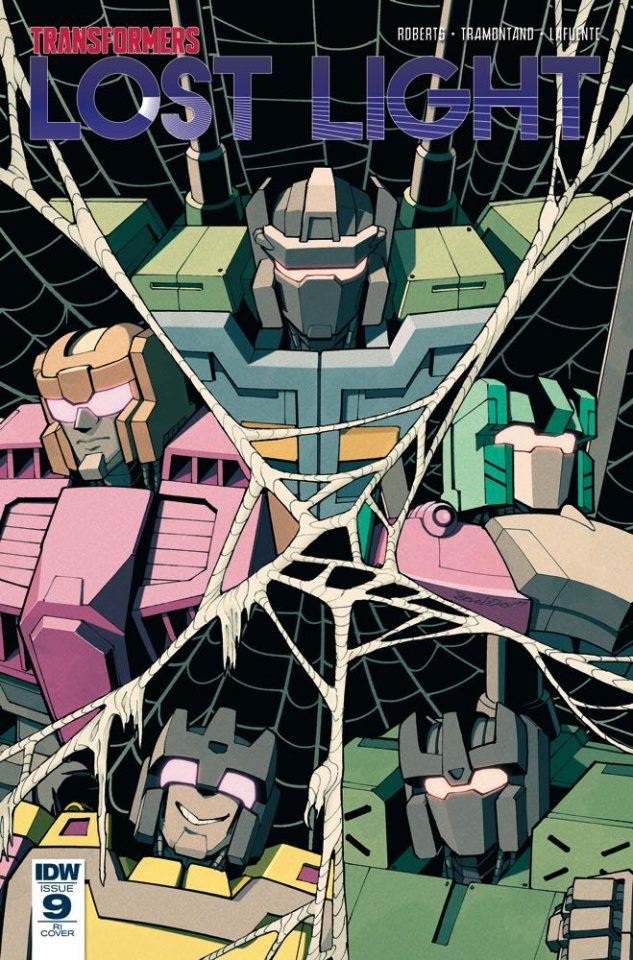 The Transformers: Lost Light #9 (10 Copy Cover)