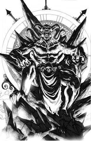 Grimm Fairy Tales: Satan's Hollow #1 (Cover B)