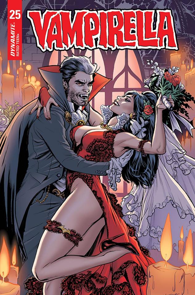 Vampirella #25 (15 Copy Lupacchino Trade Dress Cover)