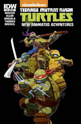 Teenage Mutant Ninja Turtles: New Animated Adventures #18 (Subscription Cover)