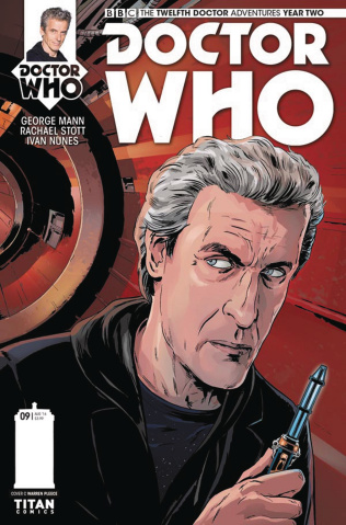 Doctor Who: New Adventures with the Twelfth Doctor, Year Two #9 (Pleece Cover)