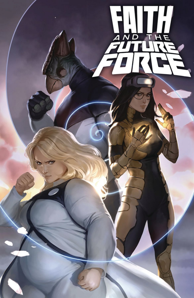 Faith and the Future Force #2 (Djurdjevic Cover)