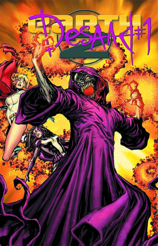 Earth 2 #15.1: Desaad Standard Cover