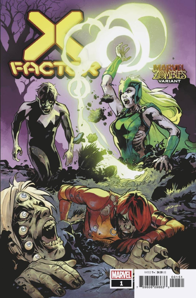 X-Factor #1 (Lupacchino Marvel Zombies Cover)