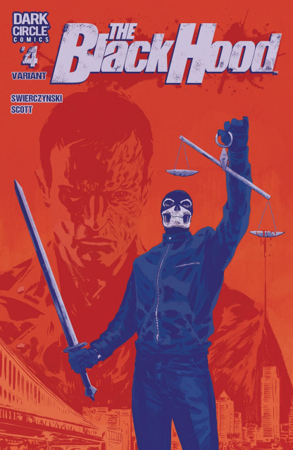 The Black Hood #4 (Michael Walsh Cover)