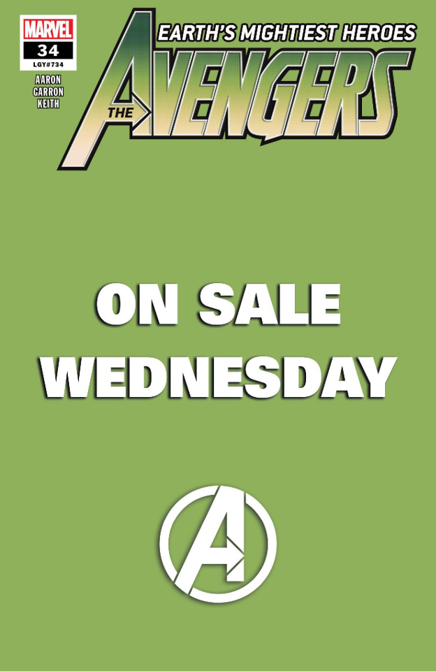 Avengers #34 (Marvel Wednesday Cover)