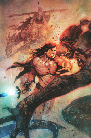 Conan the Barbarian #1 (Sienkiewicz Cover)