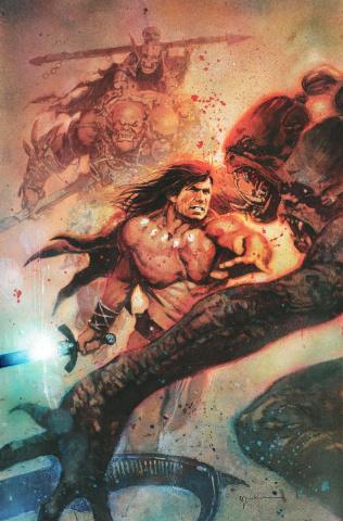 Conan the Barbarian #1 (Sienkiewicz Cover)
