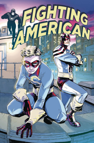 Fighting American: The Ties That Bind #2 (Tong Cover)