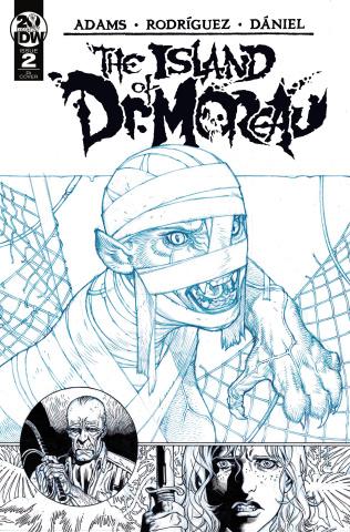 The Island of Dr. Moreau #2 (10 Copy Cover)