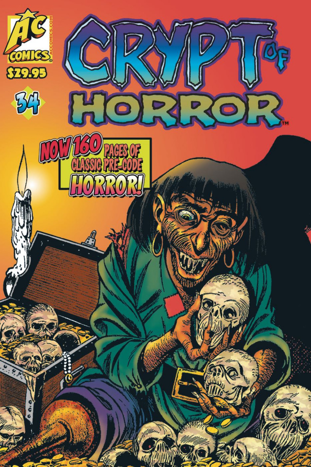 Crypt of Horror #34