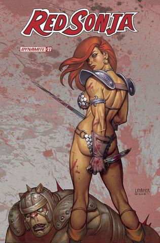 Red Sonja #27 (Linsner Cover)