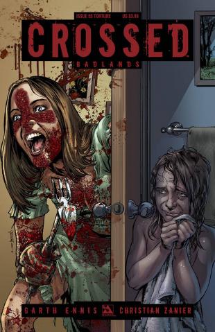 Crossed: Badlands #55 (Torture Cover)