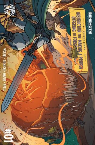 Knight Janek #1 (Wolski Cover)
