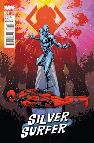 Silver Surfer #1 (Sliney Deadpool Cover)
