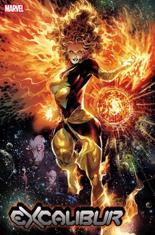 Excalibur #5 (Tan Dark Phoenix 40th Anniversary Cover)